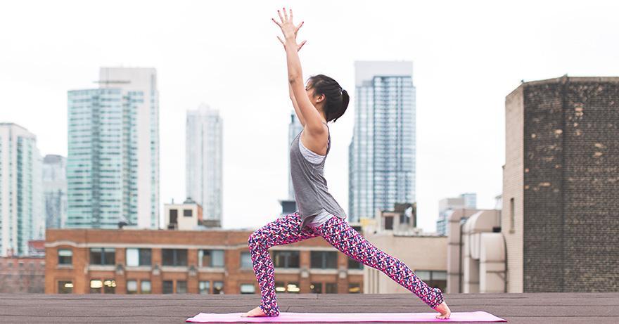 Yoga in the Courtyard