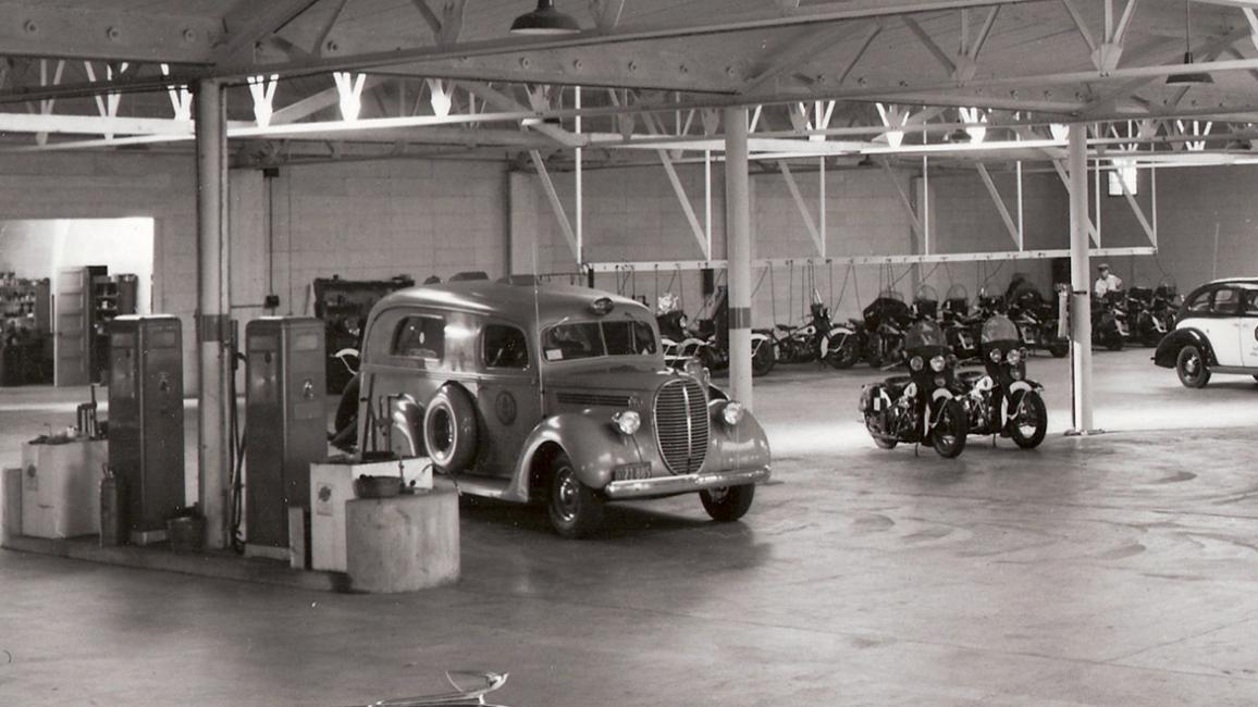 Police Garage Left