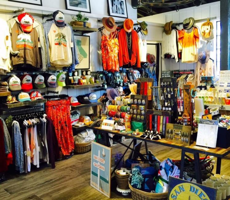 Urban Beach House shop in Downtown San Diego
