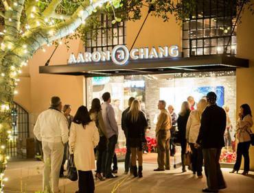 Aaron Chang Ocean Art Gallery Downtown San Diego